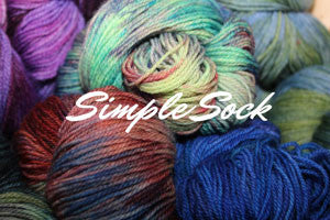Simple Sock by MJ Yarns