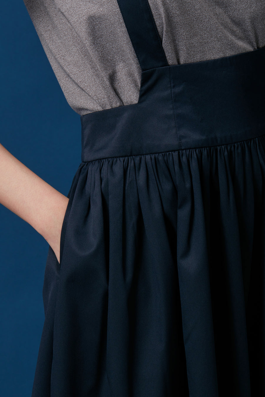 Pinafore Skirt (Black)