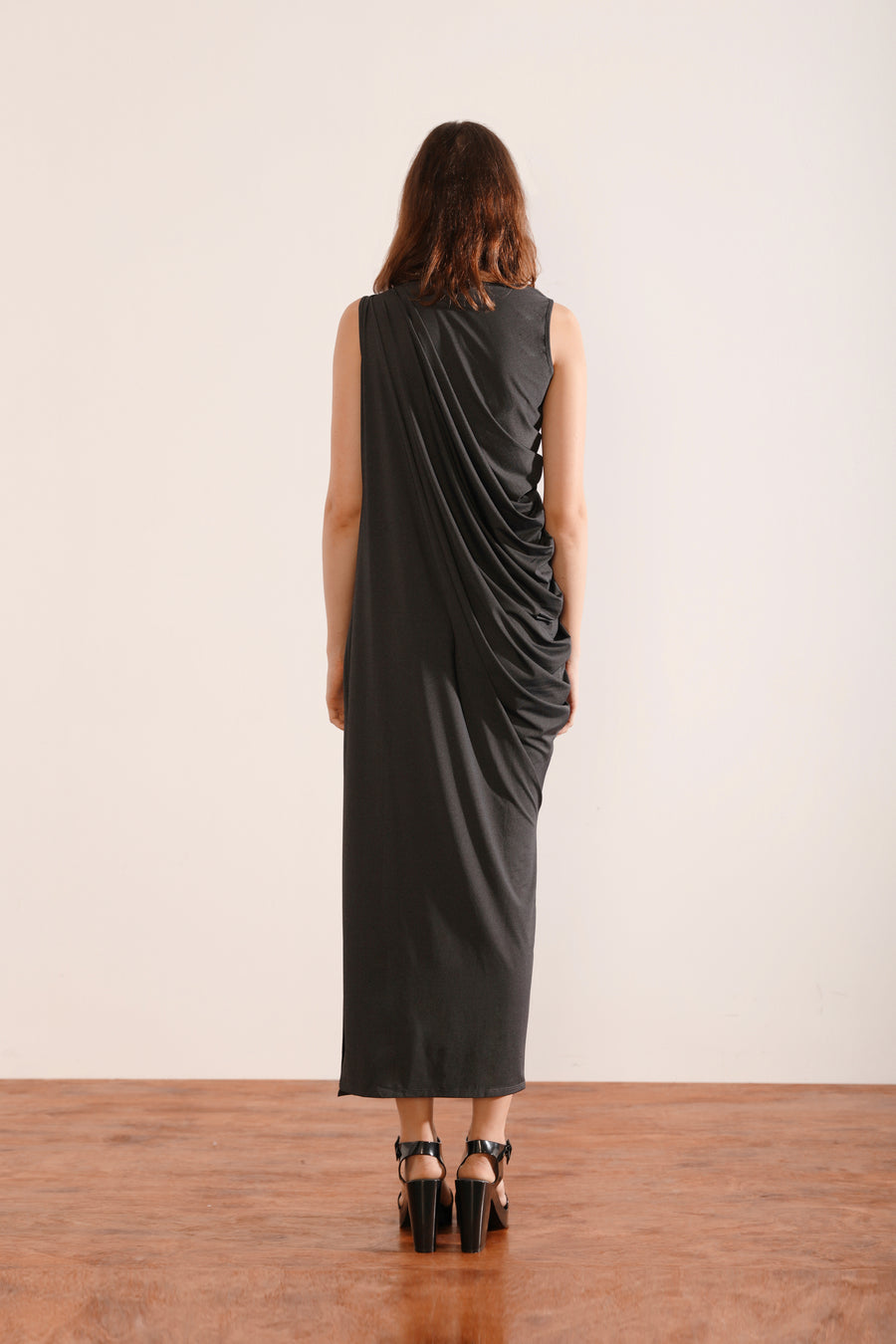 Grecian Dress (Black)