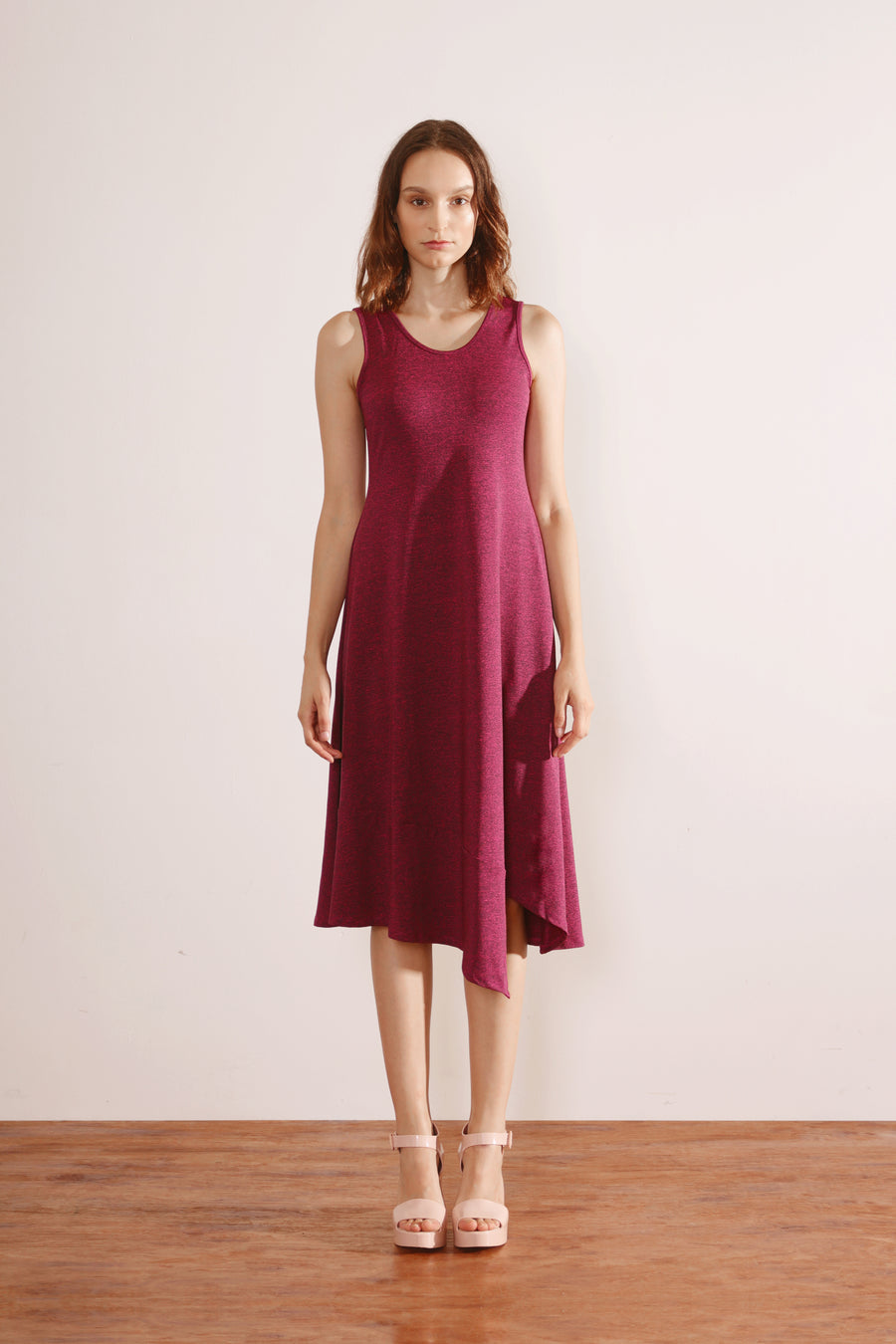 Panelled Hem Maxi Dress