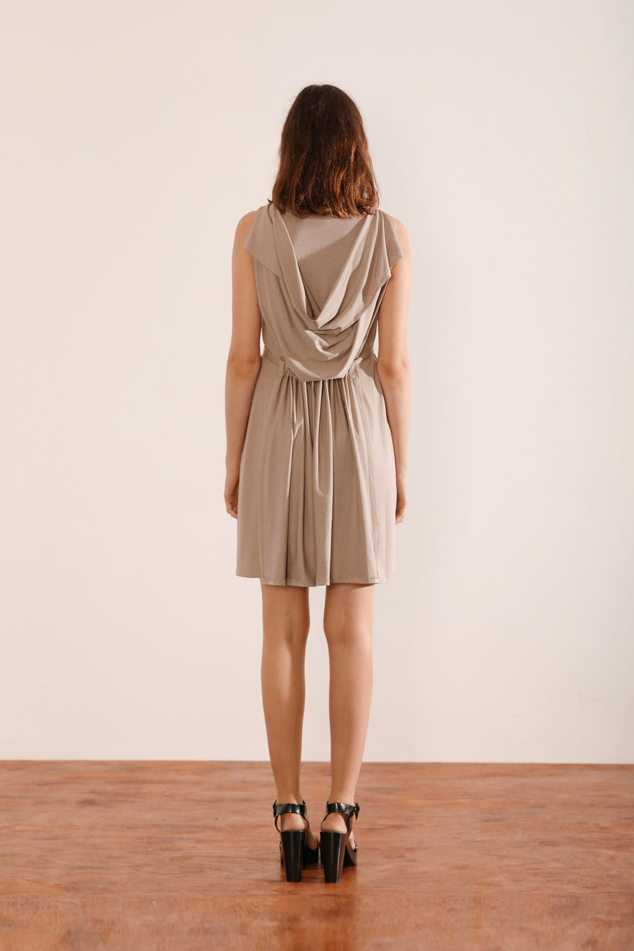 Flip Dress (Light Grey)