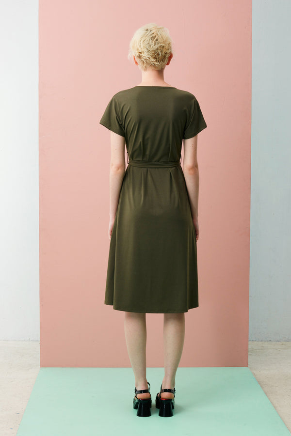 Online Exclusive: Wrap Dress (Green)