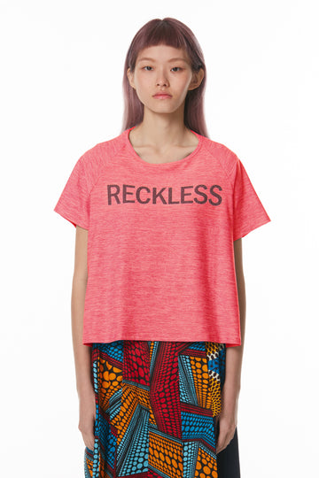 Reckless Raglan Tee (Pink)