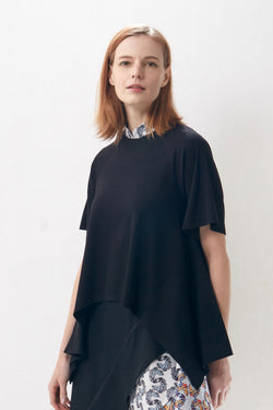 Chinese Collar Swing Top (Korma)