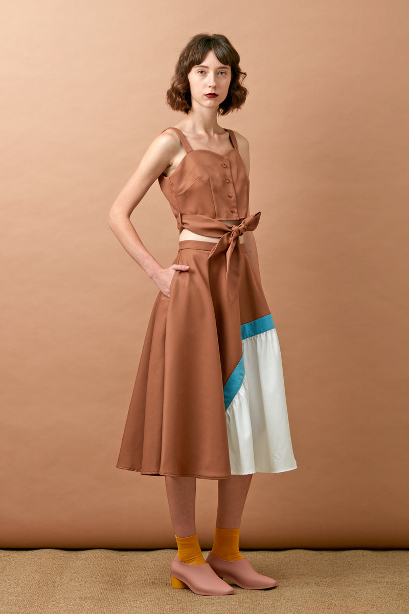 Trio Skirt (Bronze)