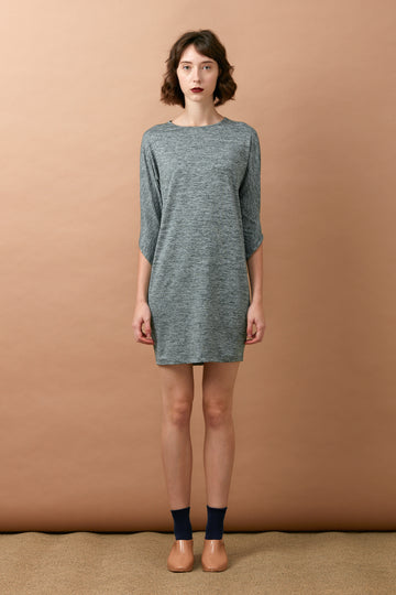 Dolman Sleeve Dress (Green)