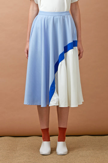 Trio Skirt (Blue)