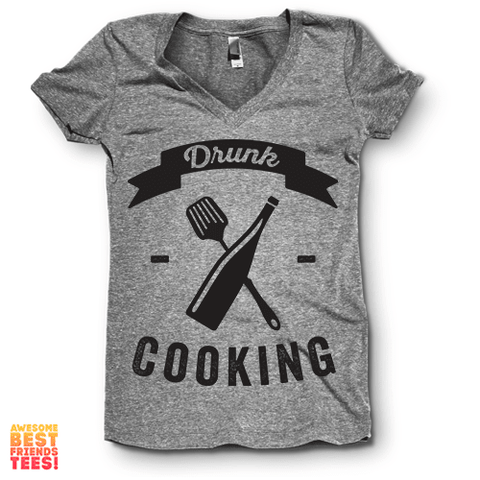 Drunk Cooking | V Neck