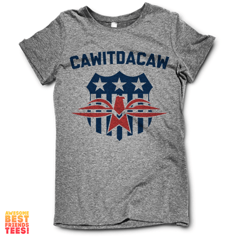 Cawitdacaw on a super comfortable Shirts for sale at Awesome Best Friends' Tees