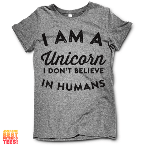 I'm A Unicorn on a super comfortable Shirts for sale at Awesome Best Friends' Tees