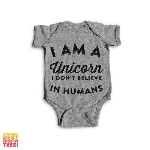 I'm A Unicorn | Onesie on a super comfortable Onesie for sale at Awesome Best Friends' Tees