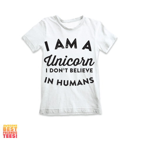 I'm A Unicorn | Kids' Tees on a super comfortable Shirts for sale at Awesome Best Friends' Tees