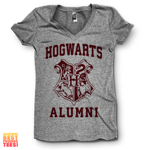 Hogwarts Alumni on a super comfy Shirts at Awesome Best Friends' Tees!
