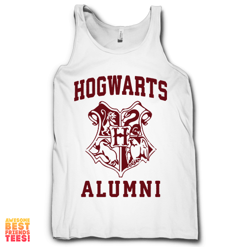Hogwarts Alumni on a super comfy Tanks at Awesome Best Friends' Tees!