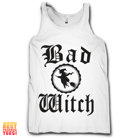Bad Witch on a super comfortable Tanks for sale at Awesome Best Friends' Tees