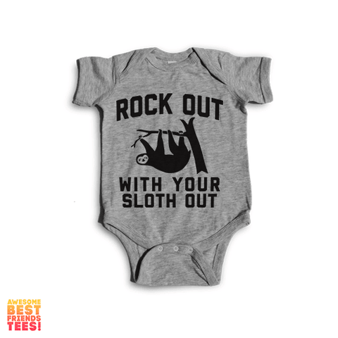 Rock Out With Your Sloth Out | Onesie