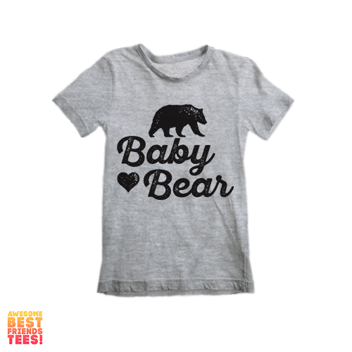 (Sale) Baby Bear | Kids' on a super comfortable Shirts for sale at Awesome Best Friends' Tees
