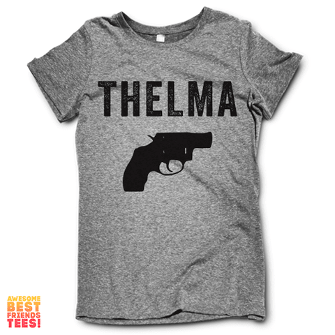 Thelma on a super comfy Shirts at Awesome Best Friends' Tees!
