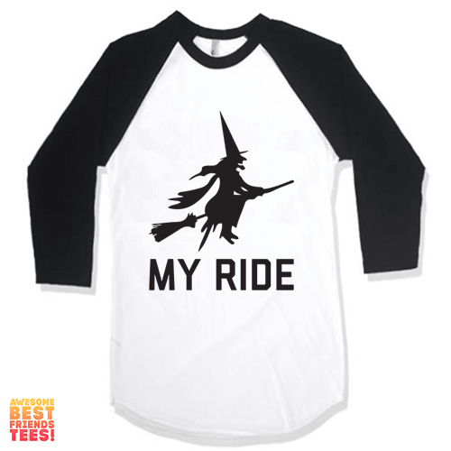 My Ride on a super comfortable Shirts for sale at Awesome Best Friends' Tees