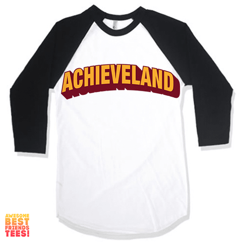 Achieveland on a super comfy Shirts at Awesome Best Friends' Tees!
