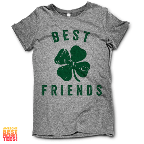 Best Friends on a super comfortable Shirts for sale at Awesome Best Friends' Tees
