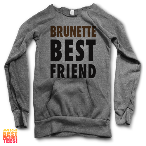 Brunette Best Friend | Maniac Sweatshirt on a super comfortable Sweaters for sale at Awesome Best Friends' Tees
