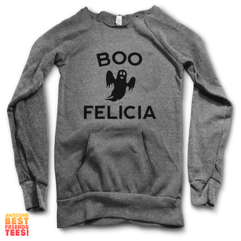 Boo Felicia | Maniac Sweatshirt on a super comfortable Sweaters for sale at Awesome Best Friends' Tees