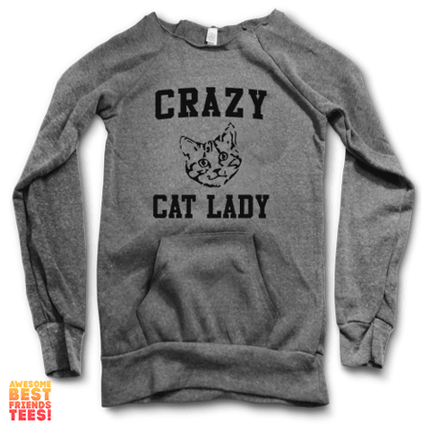 Cat Face Crazy Cat Lady | Maniac Sweater