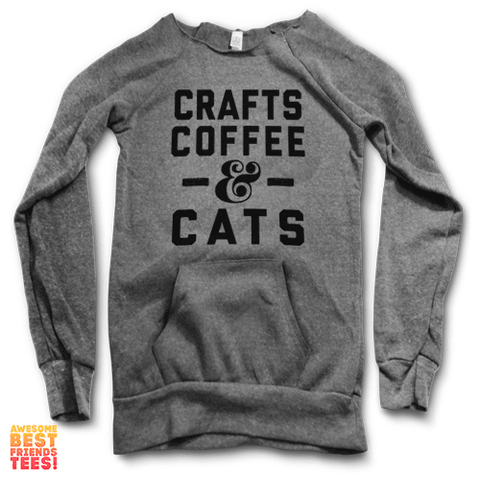 Crafts, Coffee & Cats | Maniac Sweater