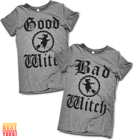 Good Witch, Bad Witch | Couples Shirts