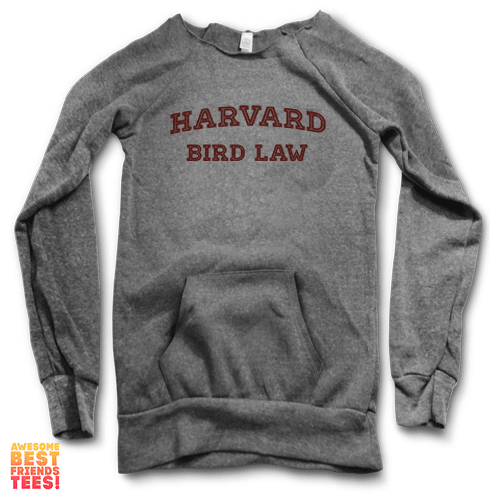 Harvard Bird Law | Maniac Sweater on a super comfortable Sweaters for sale at Awesome Best Friends' Tees