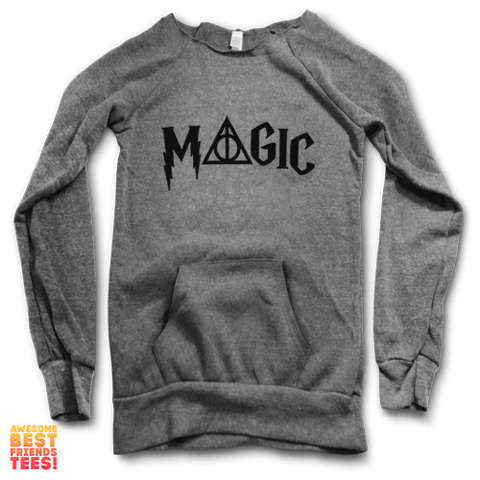 Magic | Maniac Sweater on a super comfortable Sweaters for sale at Awesome Best Friends' Tees