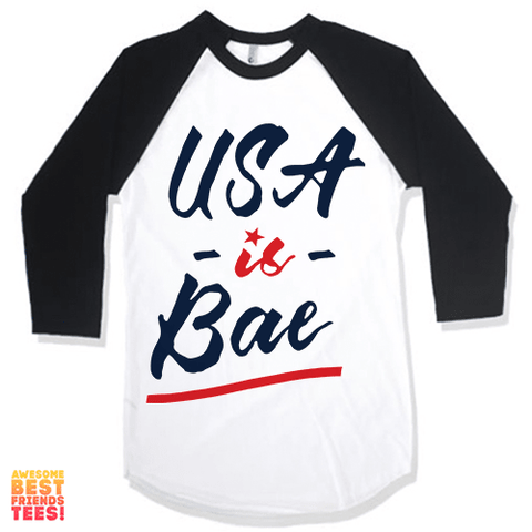USA Is Bae on a super comfy Shirts at Awesome Best Friends' Tees!