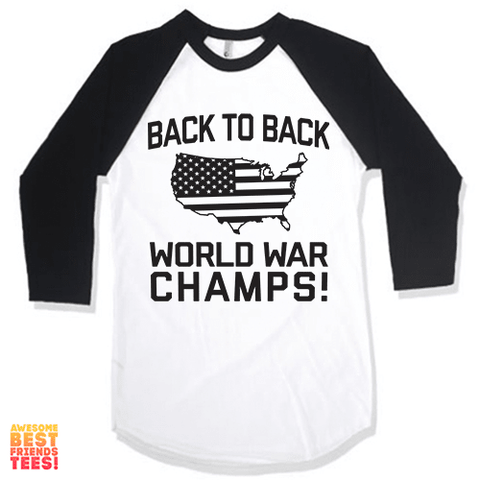 (Sale) Back To Back World War Champs