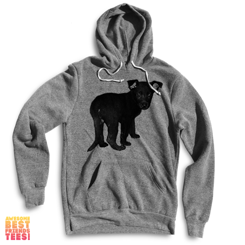 Black Dog on a super comfortable Sweaters for sale at Awesome Best Friends' Tees