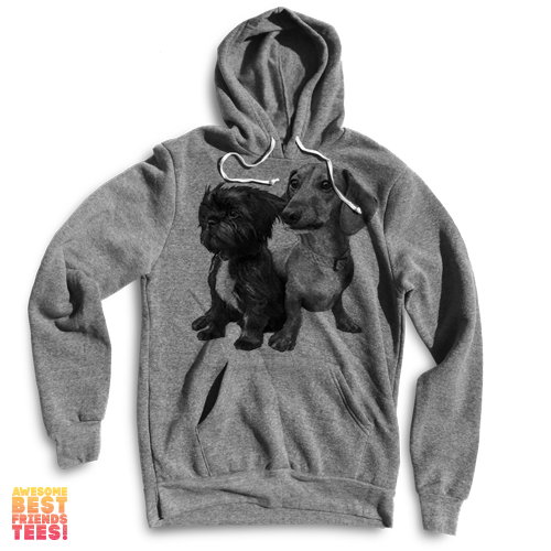 Chewy And Brutus Doin Things on a super comfortable Sweaters for sale at Awesome Best Friends' Tees