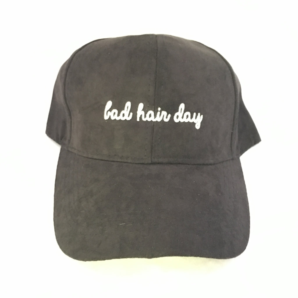 """Bad Hair Day"" Baseball Hat"