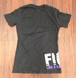 """Fight Like a Girl"" Side Wrap Ladies T-Shirt"