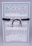 My Saint My Hero: Benedictine Blessing Bracelet for Kids