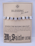 My Saint My Hero: Benedictine Blessing Bracelet for Him