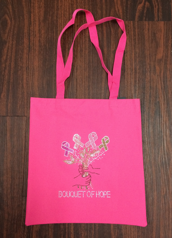 Bouquet of Hope Tote Bag
