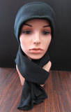 Black Fleece Caley Hat and Scarf Set