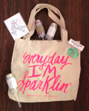 Everyday I'm Sparlkin' Tote Bag