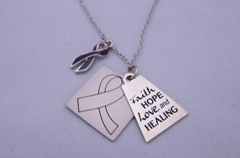 Faith, Hope, Love and Healing Necklace for Caregivers