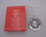 Memorial Photo Ornaments