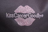 Kiss Cancer Goodbye Zippered Tote Bag