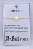 My Saint My Hero: Breathe Blessing Bracelet – Metallic