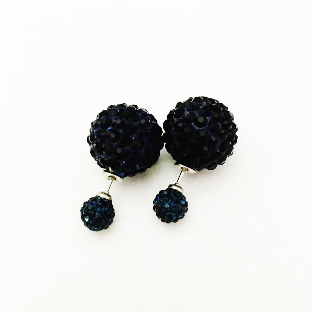 Double Sided Sparkle Earrings