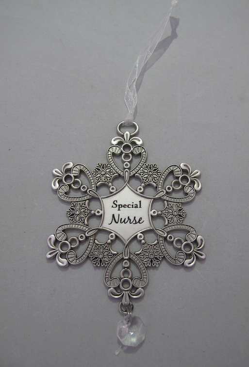 Special Nurse Snowflake Ornament
