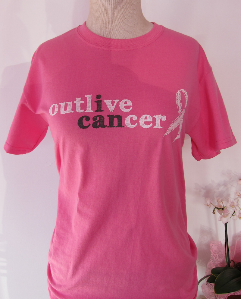 I CAN Outlive Cancer T-Shirt